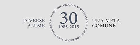 Il Gruppo Foppa compie 30 anni